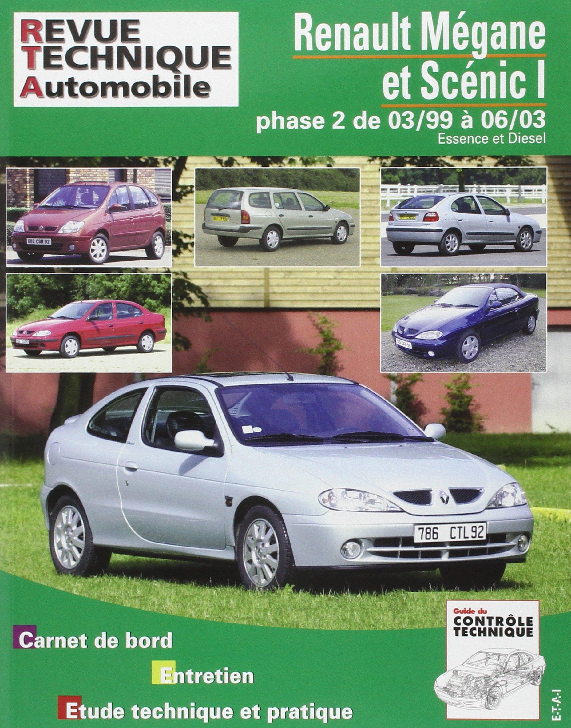 Rta 120.1 Renault Megane/Scenic Es./Die Jusqua 2003: Amazon.es: Etai: Libros en idiomas extranjeros