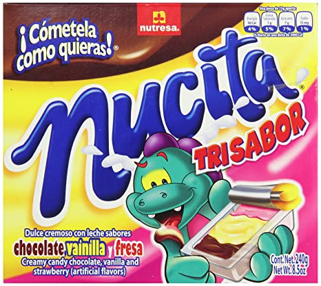 Amazon.com : Nutresa Nucita Candy, Trisabor, 16 Count (Pack of 24) : Grocery & Gourmet Food