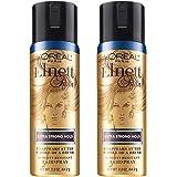 L'Oreal Elnett Satin Hairspray, Extra Strong Hold 2.20 oz (Pack of 2)
