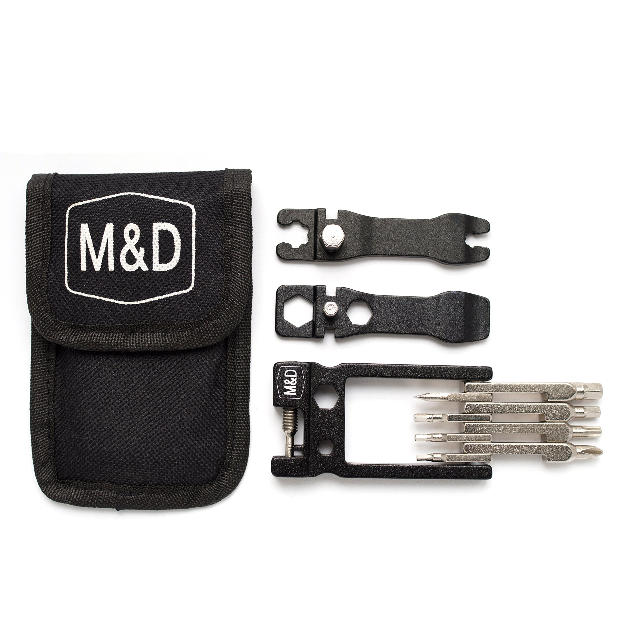 Bike Multitool MadWares 24 in 1 Bicycle Multi Tool Repair Kit with Wrench Set by M&D Wares (Image #8)