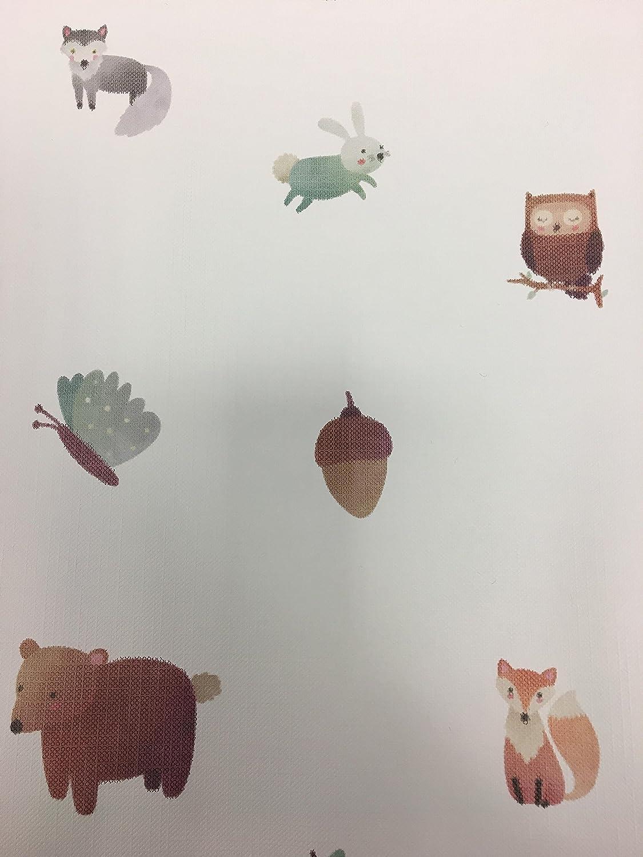 /Motif unique animaux de la for/êt Matelas /à langer avec bords sur/élev/és Luxueux Pour b/éb/é Unisexe Imperm/éable /