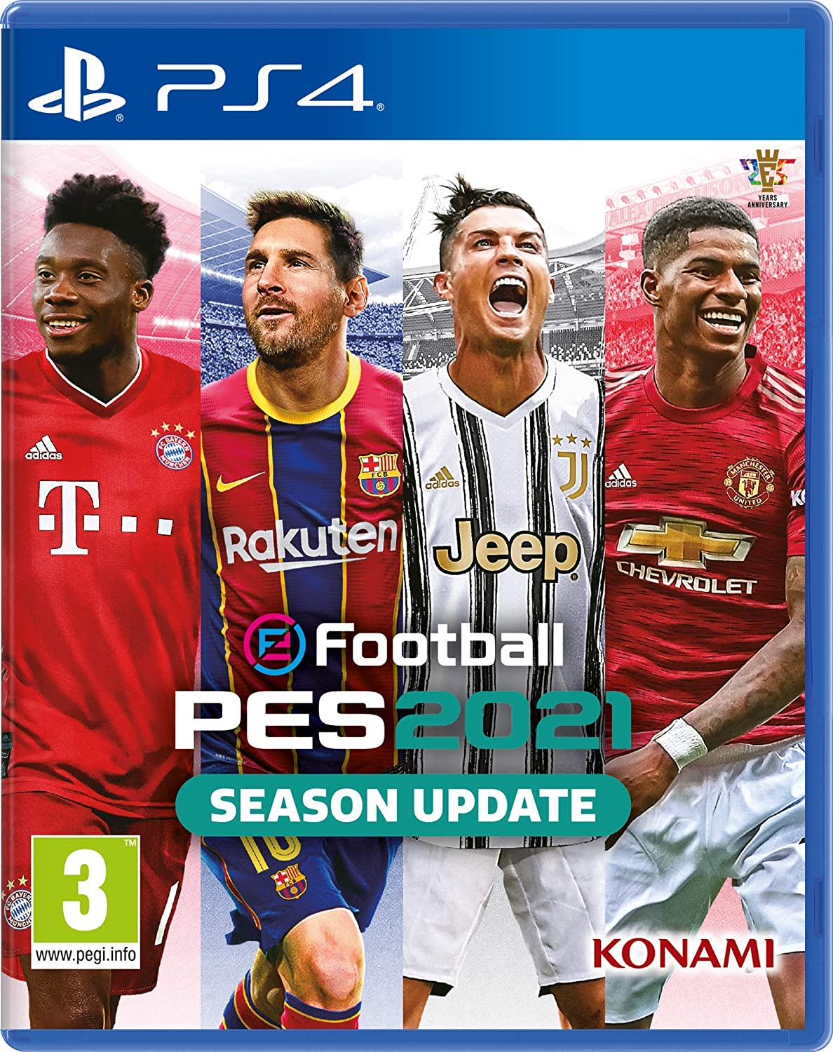 eFootball PES 2021 PS4: Amazon.es: Videojuegos