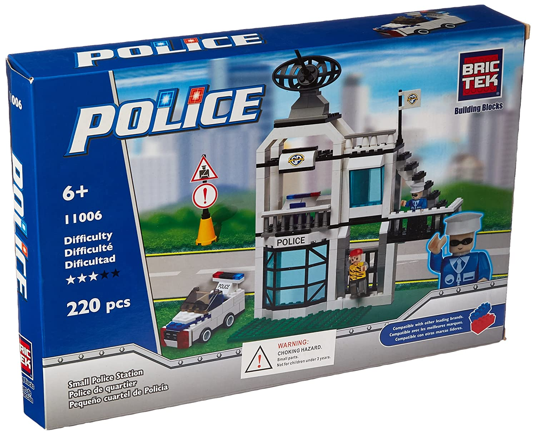 ¡no ser extrañado! Brictek Small Police Station Building Kit Kit Kit  disfrutando de sus compras