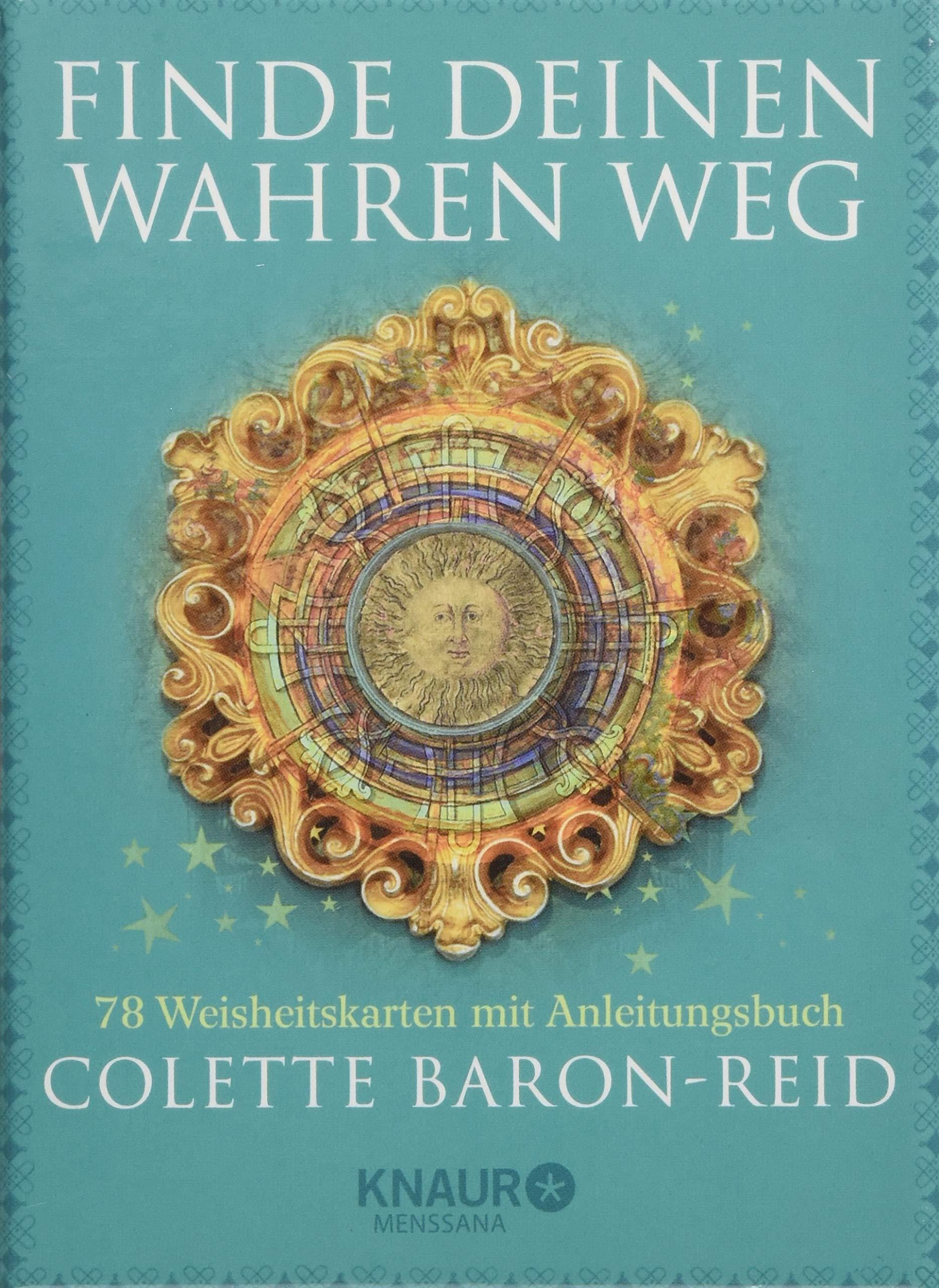 Finde Deinen Wahren Weg  78 Weisheitskarten Mit Anleitungsbuch