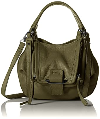 Kooba Handbags Womens Leather Convertable Crossbody Handbag Mini Jonnie 89f28d5ed3023