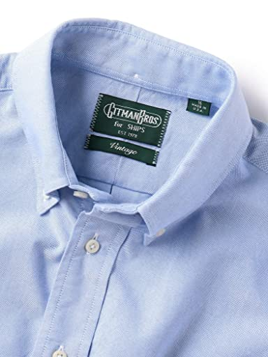 Oxford Buttondown Shirt 111-13-5454: Light Blue
