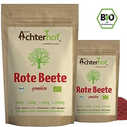 Rote Beete Pulver Bio 100g Rohkostqualität Beetroot Powder