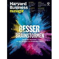 Harvard Business Manager 8/2018: Besser Brainstormen