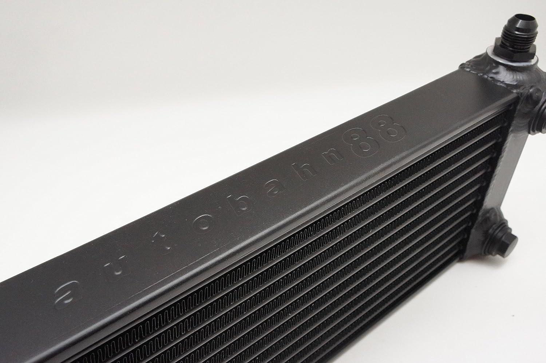 300x225x32mm compacto Tama/ño de base 12x8.8x1.26 16 mm Puertos leng/üeta Autobahn88 El aceite universal//Automatic Transmission Fluid ATF m/ás fr/ías 18 filas negro