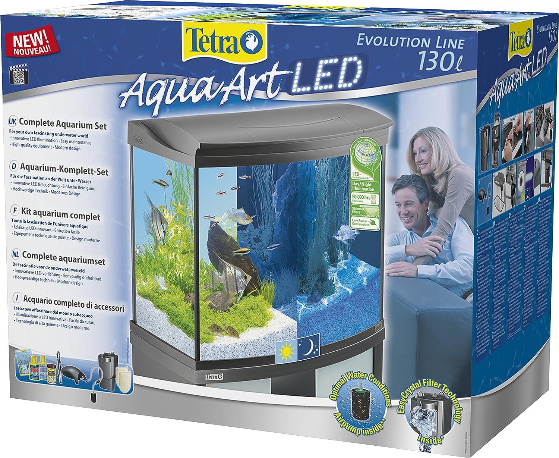 Tetra AquaArt Evolution Line LED Aquarium-Komplett-Set 130 Liter ...