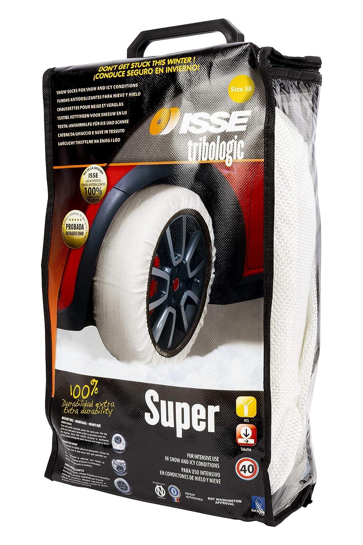 Shark C50058 Super Longer Life Issue Snow Socks for Traction Size 58