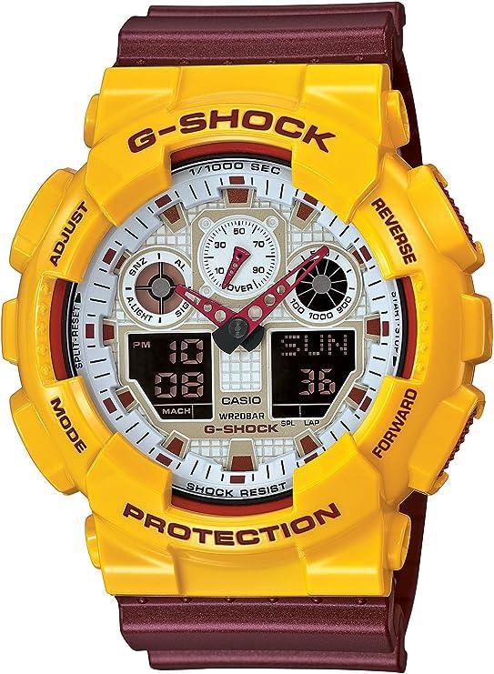 [カシオ] 腕時計 ジーショック Crazy Colors GA-100CS-9AJF