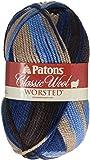 Patons  Classic Wool Yarn - (4) Medium Gauge 100% Wool - 3.5oz -  Wedgewood -   For Crochet, Knitting & Crafting
