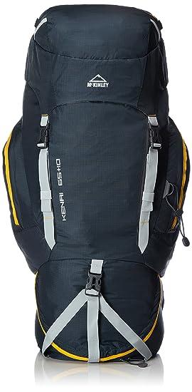 06a88a77007cb McKinley Kenai 65 + 10 Trekking Rucksack - Navy Yellow
