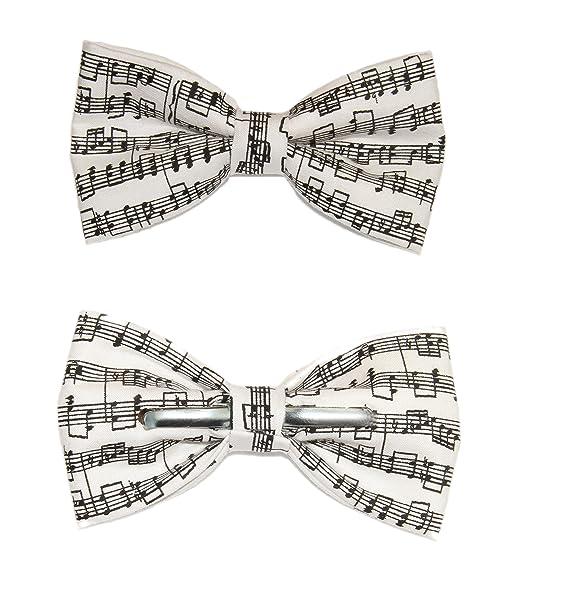 One Size Bow Tie Black Steven Harris Mens Pre-Tied Adjustable Piano Music Bowtie