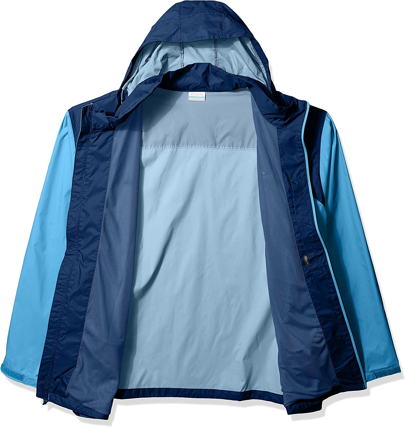 Columbia Big and Tall Glennaker Lake Rain Jacket Blouson de Pluie Homme Yacht/carbone.