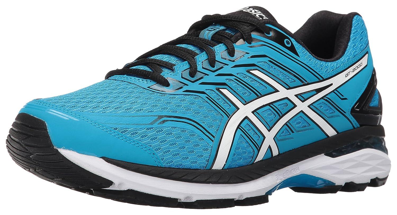 ASICS Men's Gt-2000 5 Running Shoe B01G6AJ74W 15 D(M) US|Island Blue/White/Black
