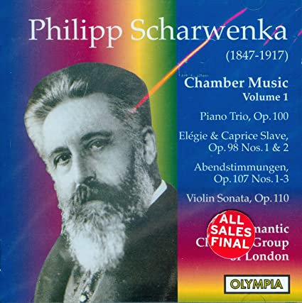 Scharwenka: Chamber Music, Vol. 1