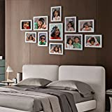 Ajanta Royal Classic Set Of 11 Individual Photo Frames (8-6X8 & 3-8X10) : A-78C (White)