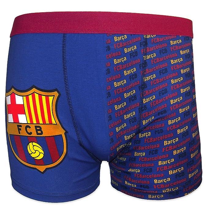 FC Barcelona - Calzoncillos oficiales de estilo bóxer - Para hombre - Con el escudo del