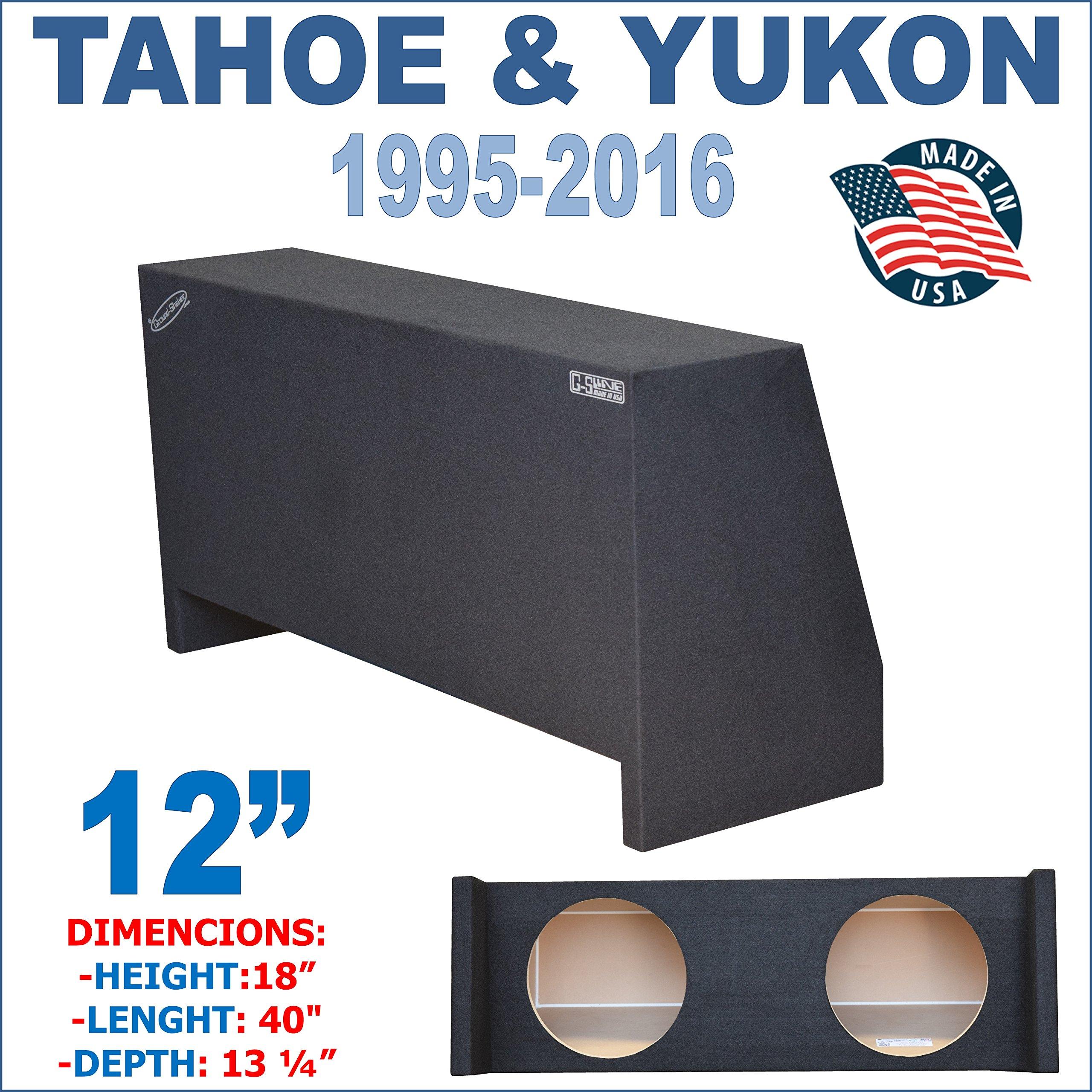 12'' Dual Sealed Sub Box, Fits CHEVY-TAHOE And GMC-YUKON1995-2016
