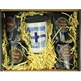 3dRose 777images Flags and Maps, Flag of Finland, Coffee Gift Baskets, 48 oz