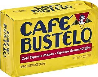Cafe Bustelo Espresso Coffee, 6 Ounce Bricks (Pack of 12)
