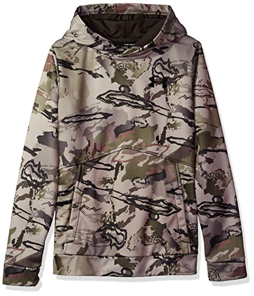 b2b3cc8c5190d Under Armour Boys' Icon Camo Hoodie,Ridge Reaper Camo Ba (903)/