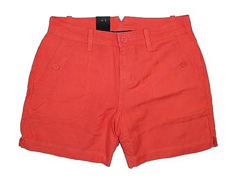 Calvin Klein Jeans Women's Linen Shorts | Amazon.com