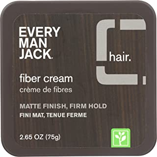 product image for Every Man Jack Fiber Cream Matte Finish Firm Hold 2.65 Ounce (78.4ml) (3 Pack)