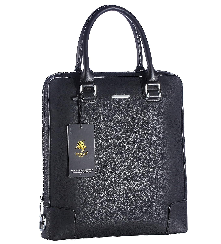 Videng Polo Pl239 Hotest Fashion Secure Top Leather Briefcase Shoulder Messenger Handbag