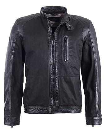 super specials quite nice superior quality Tom Tailor Lederjacke, Herren 6010043 (black): Amazon.de ...