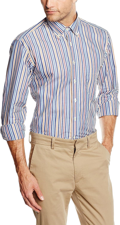 Mirto HAPPY BOTON - Camisa Casual de manga larga para hombre ...