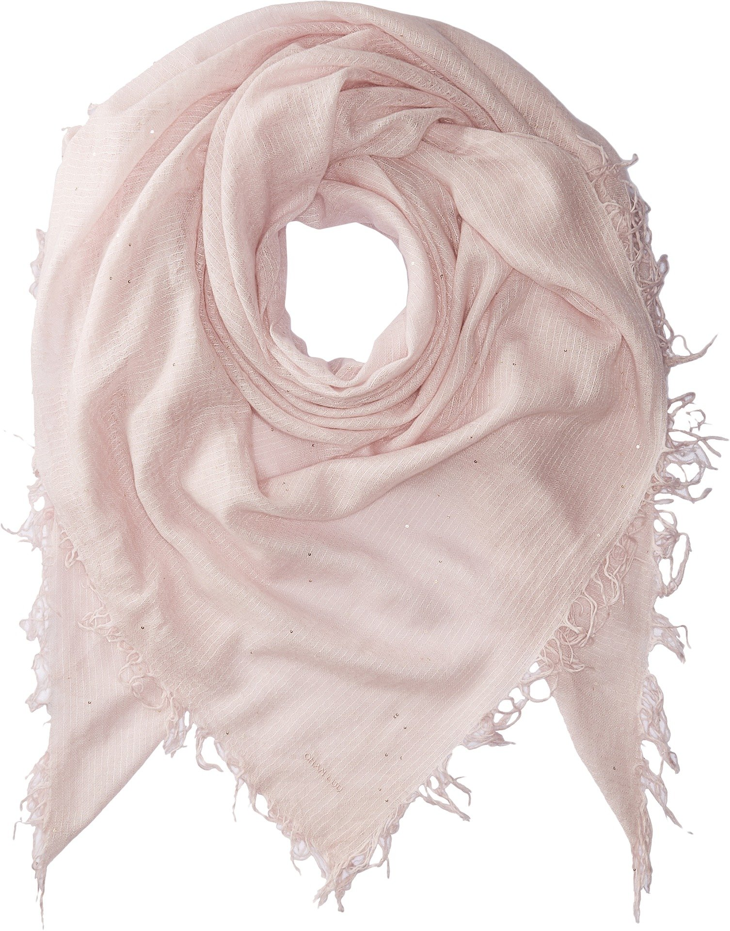 Chan Luu Women's Scattered Sequin Scarf Mauve Chalk One Size by Chan Luu