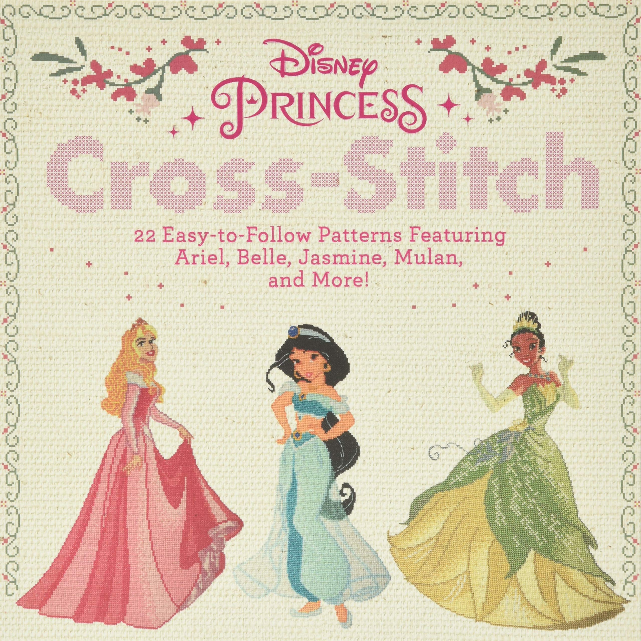 mini 3 Life-Size Disney cross stitch