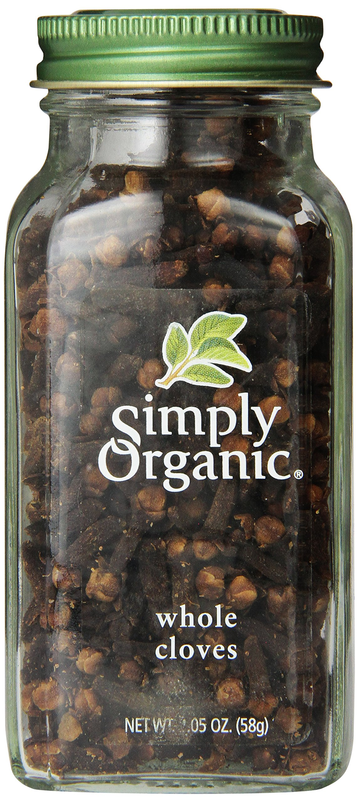 Simply Organic Whole Cloves, 2.05 Ounce