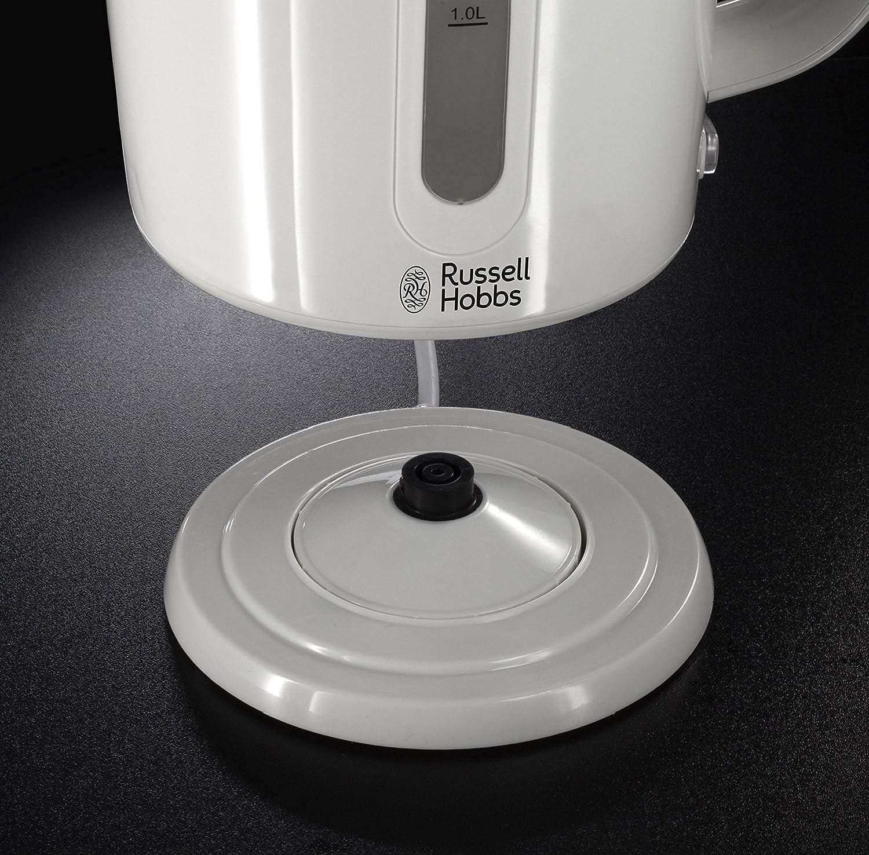 Russell Hobbs Darwin Kettle, 1.7 L, 2200 W - Cream White