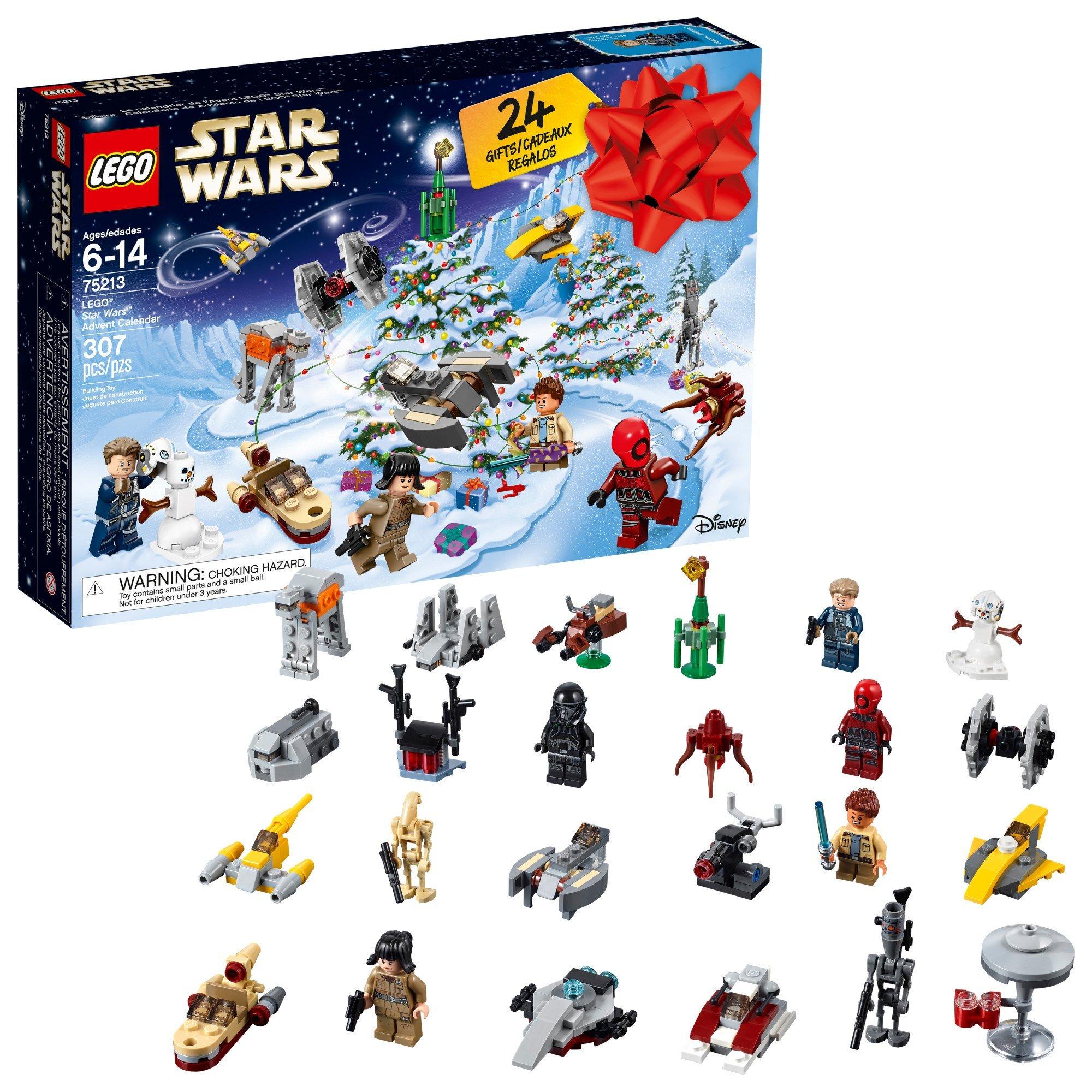 Amazon.com: LEGO 6213564 Star Wars Advent Christmas Countdown ...