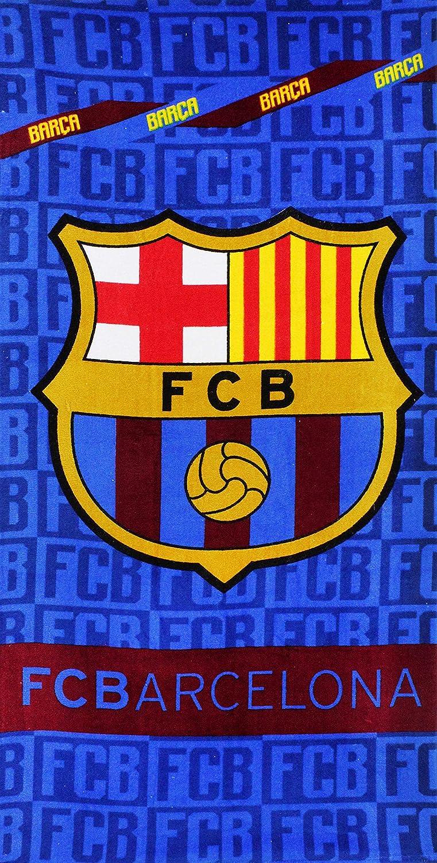 Setino FCB 8021 FC Barcelona - Toalla de Playa (70 x 140 cm): Amazon.es: Hogar