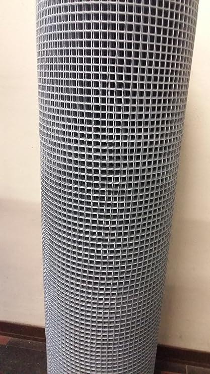 Rete Plastica Da Balcone.Tenax Rete Di Protezione Per Balconi Quadra Col Grigio Mt 1 X 50