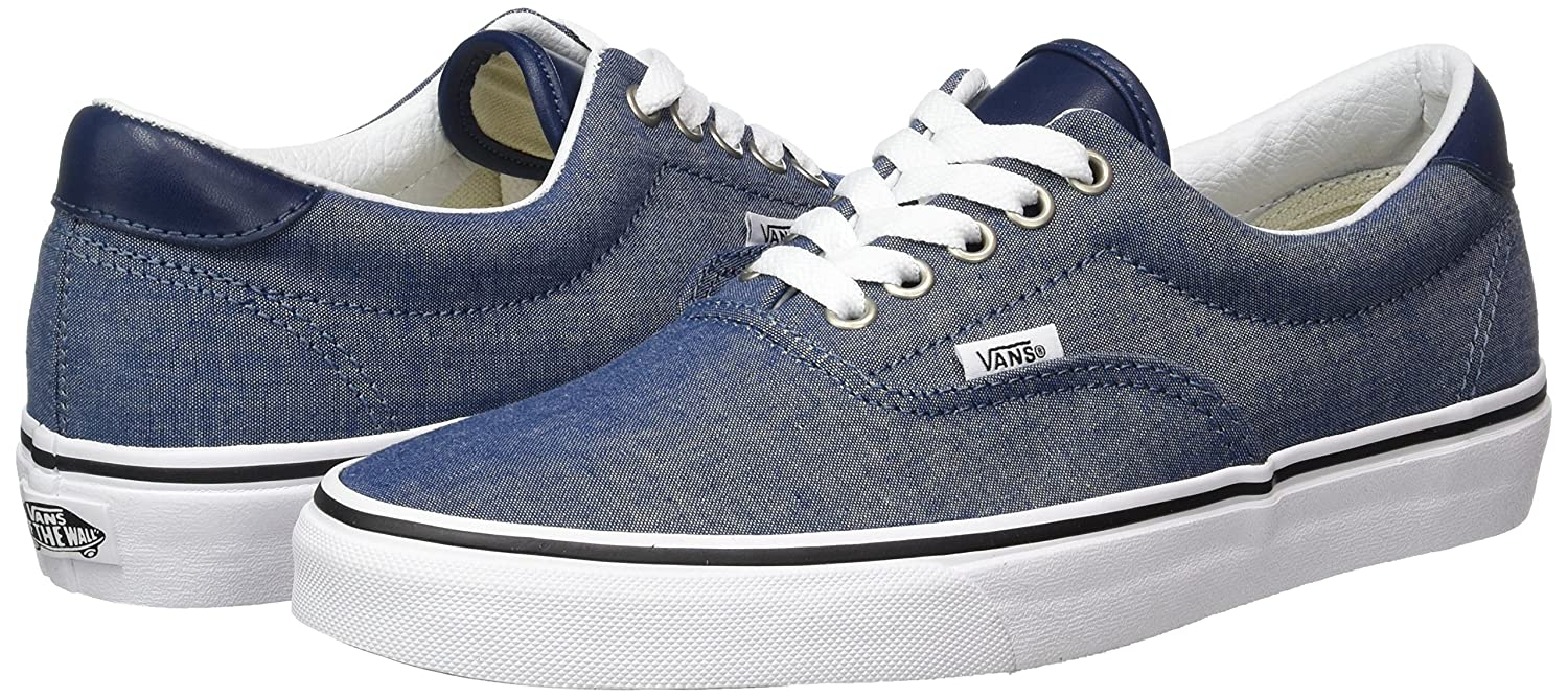 Vans Unisex Era 59 M Skate Shoes B01I4B6ACI 8.5 M 59 US Women / 7 M US Men|Chambray/Blue 199451