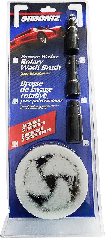 Powerwasher 80134 Universal Pressure Washer Rotary Brush Accessory Kit