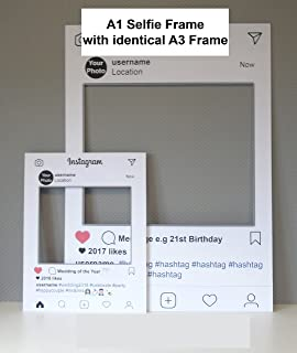 Customized Instagram Frame Cutout Selfi Prop Instagram Prop For - Instagram cut out template