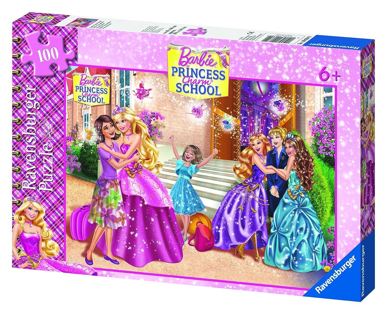 Ravensburger 10634 - Barbie Charm School 100 Teile Teile Teile XXL Puzzle d3e27c
