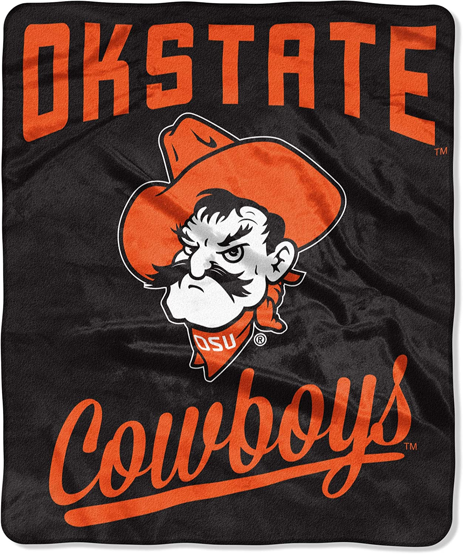 Team Colors 50x60 Inches Northwest NCAA Oklahoma State Cowboys Unisex Alumniraschel Blanket