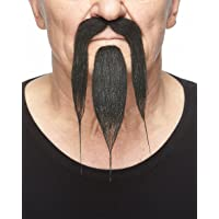 36 Pieces Faked Beard for Masquerade Halloween and Performance Timoo Fake Mustaches Novelty Mustaches Self Adhesive