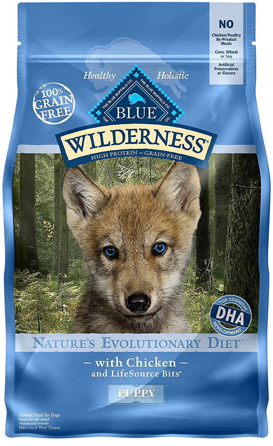 BLUE Wilderness Grain Free Puppy Food