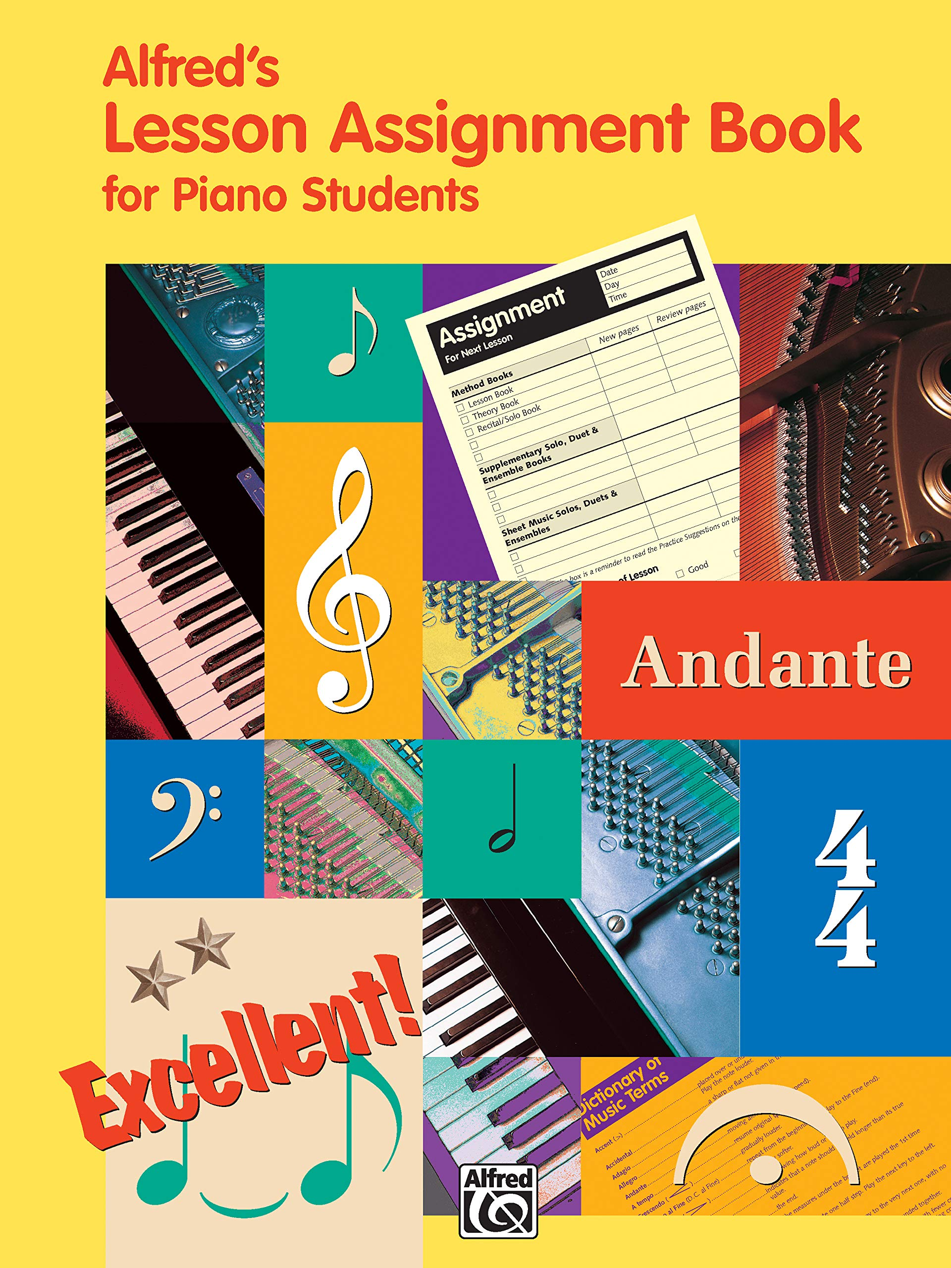 My Music Journal Hal Leonard Student Piano Library Student Assignment Book
