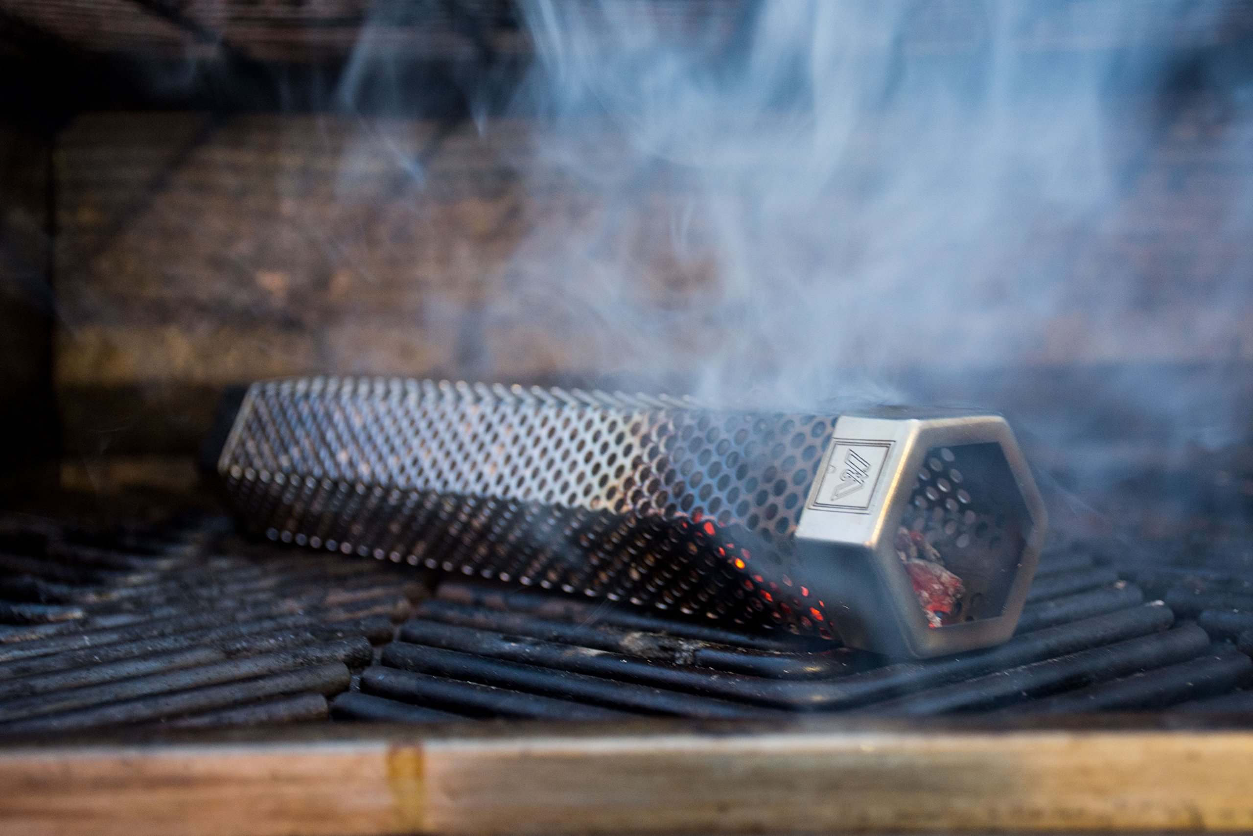M EMBR Smoking 12'' Pellet Smoker Tube   E-Book with Recipes Included by M (Image #4)