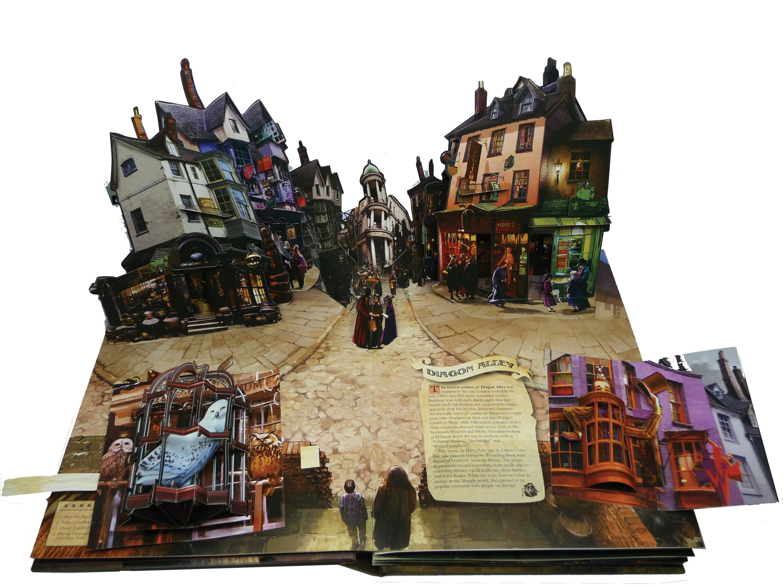 Harry Potter A Pop Up Book Lucy Kee Bruce Foster Andrew